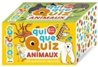 Quiquequiz animaux : 200 questions-réponses