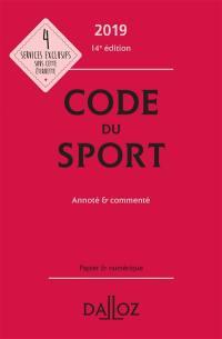 Code du sport 2019