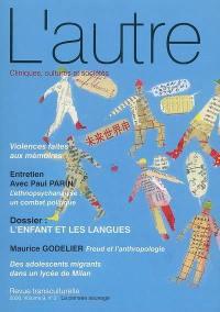 Autre (L'). n° 26, L'enfant et les langues