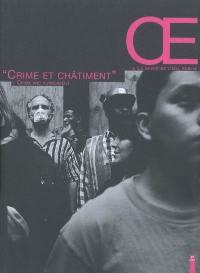 OE, la revue de l'Oeil public. n° 2, Crime et châtiment
