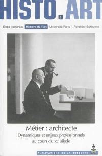 Métier, architecte