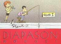 Diapason rouge. Volume 1, Carnet de 460 chants avec accords
