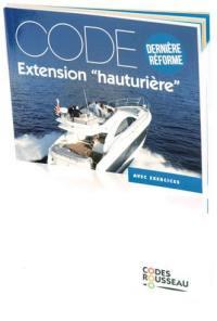 Permis bateau Rousseau, Code extension hauturière