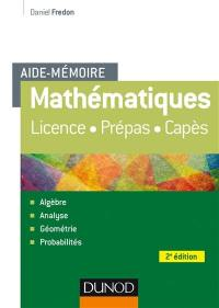 Mathématiques, aide-mémoire