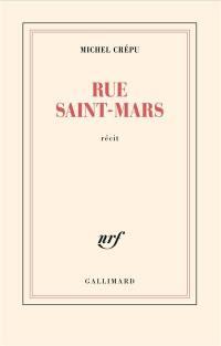 Rue Saint-Mars