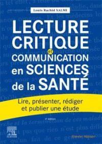 Lecture critique et communication en sciences de la santé