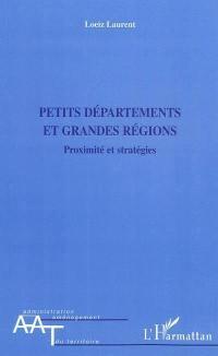 Petits départements et grandes régions