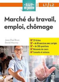 Marché du travail, emploi, chômage, L1, L2