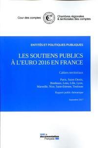 Les soutiens publics à l'Euro 2016 en France