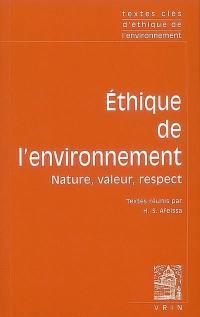 Ethique de l'environnement