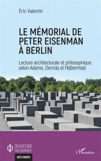Le mémorial de Peter Eisenman à Berlin