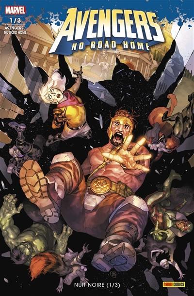 Avengers : no road home. n° 1, Nuit noire