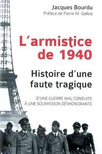 L'armistice de 1940