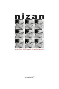 Articles littéraires et politiques. Volume 1, Des écrits de jeunesse au Ier Congrès international des écrivains pour la défense de la culture
