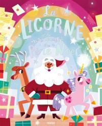La licorne à la rescousse du Père Noël