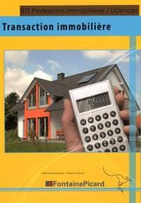 Transaction immobilière : BTS professions immobilières, licences