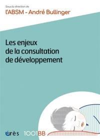 Les enjeux de la consultation de développement