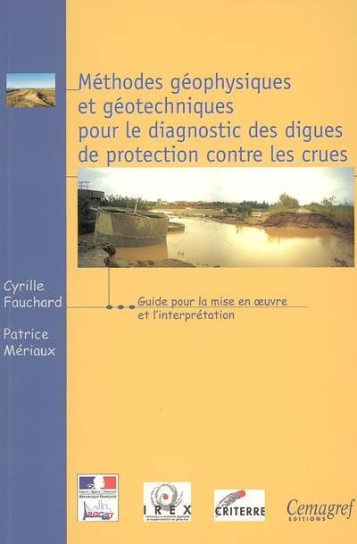 Méthodes géophysiques et géotechniques pour le diagnostic des digues de protection contre les crues