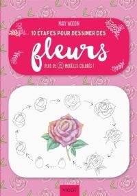 10 étapes pour dessiner des fleurs