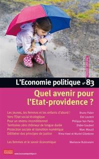 Économie politique (L'). n° 83, Quel avenir pour l'Etat-providence ?