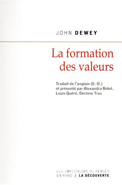 La formation des valeurs