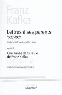 Une année dans la vie de Franz Kafka