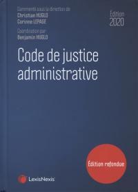 Code de justice administrative 2020