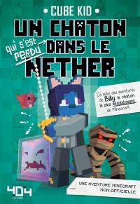 Un chaton qui s'est perdu dans le Nether
