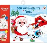200 autocollants Noël