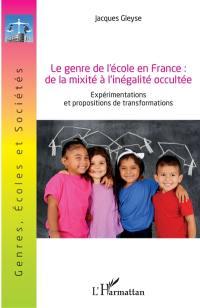 Le genre de l'école en France