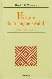 Histoire de la langue swahili