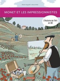 L'histoire de l'art en BD, Monet et les impressionnistes