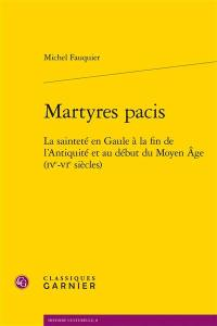 Martyres pacis