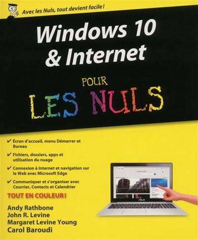 Windows 10 & Internet pour les nuls