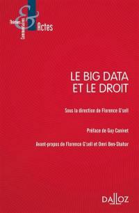 Le big data et le droit