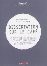 Du café et de ses diverses préparations