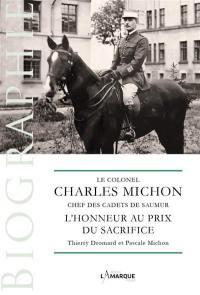 Le colonel Charles Michon, chef des cadets de Saumur