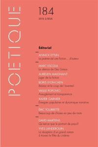 Poétique. n° 184,