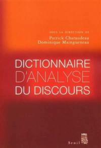 Dictionnaire d'analyse du discours