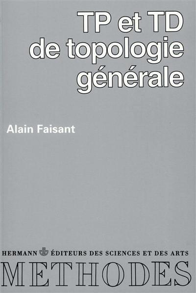 TP et TD de topologie générale