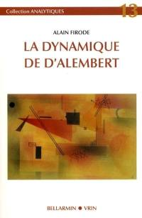 La dynamique de D'Alembert