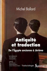 Antiquité et traduction