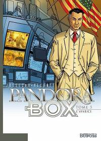 Pandora box. Vol. 5. L'avarice