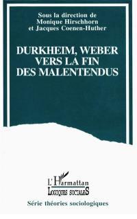 Durkheim et Weber