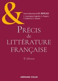 Précis de littérature française