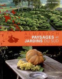 Almanach des paysages et des jardins du Sud