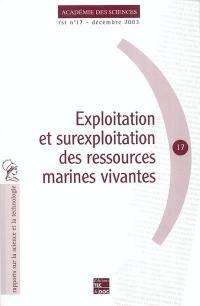 Exploitation et surexploitation des ressources marines vivantes