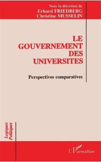 Le Gouvernement des universités