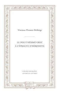 Le polythéisme grec à l'épreuve d'Hérodote