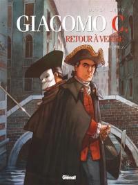 Giacomo C.. Volume 2, Le maître d'école